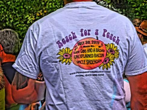 Reach for a Peach Festival Tee