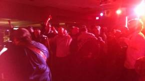 Crowded Dancefloor Dancing to Uncle Shoehorh at Upstream Grille in Hopatcong NJ