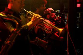 Special Guest, the talented Chris Persad on Trumpet