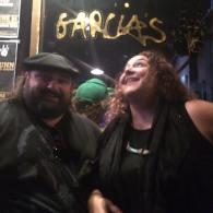 Sunshine Garcia and Tony Vee at Garcia's