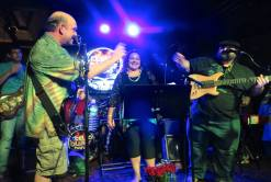Tony Vee Sits in With Stella Blue's Band and Sunshine Garcia @ Garcia's in Port Chester