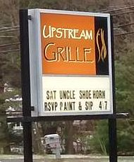 Shoehorn's Debut at Upstream Grille in Hopatcong, NJ