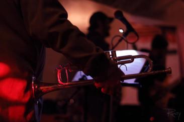 trumpet in Shoehorn Studio