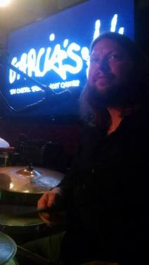Give the funky drummer some at Garcias