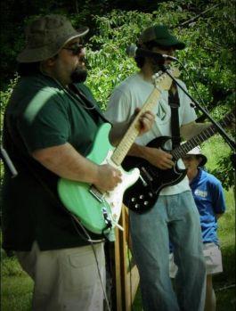 Dualing guitars