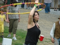 Stacy Hooping It Up