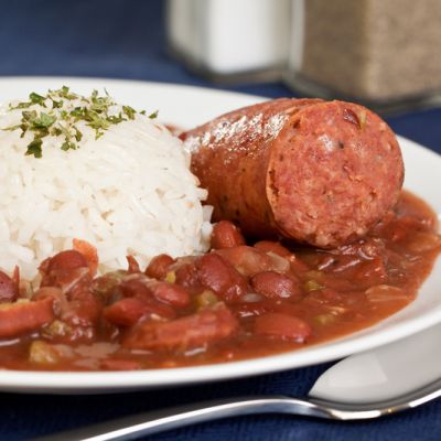 Red Beans and Rice with Andouille