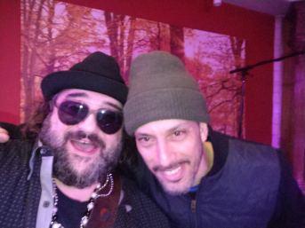Vee and Ben Fine at Rivara's